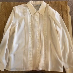 Lovely Button Up Vintage Blouse